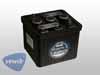 Batterie 6 Volt 66 aH, schwarz