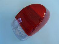 Bügeleisenleuchtenglas rot/rot/weiß