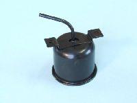Bremsflüssigkeitsbehälter 54-57, Metall ( frühe Ausführung mit Muttern )