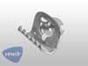 Druckknopf für Fenstersamt Karmann Ghia