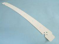Verdeckspitzenblende, Modell 65-67, weiß